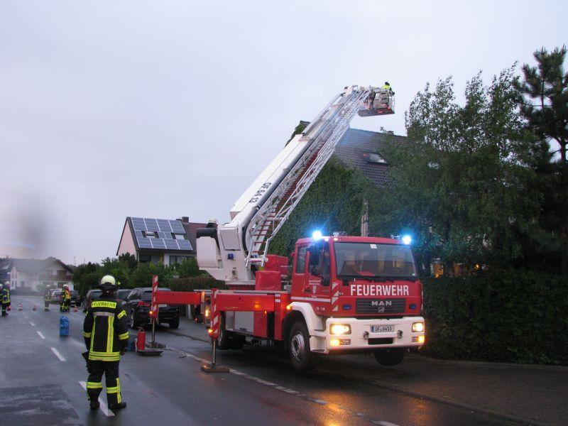 F 2 - Wohnungsbrand, Rauchentwicklung